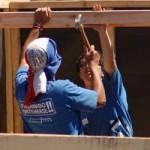 Voluntarios del cono sur americano concluyen 55 viviendas de emergencia