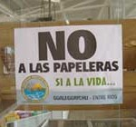 Ambientalistas de Gualeguaychú vuelven a protestas públicas contra pasteras