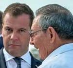 """Primer ministro Medvedev: """"Bloqueo de EE.UU. a Cuba es anacronismo histórico"""""""