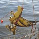 Otro barco pesquero halla restos del Air Class en el Río de la Plata