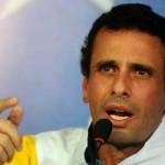 """Capriles: campaña en Venezuela es una lucha """"espiritual"""" del bien contra el mal"""