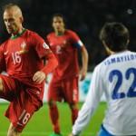 Portugal, sin Cristiano Ronaldo, venció 2-0 a Azerbaiyán