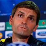 Tito Vilanova, entrenador del Barça, ya se encuentra en Barcelona