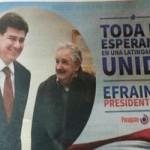 Mujica aclara que no autorizó el uso de su imagen en campaña electoral paraguaya