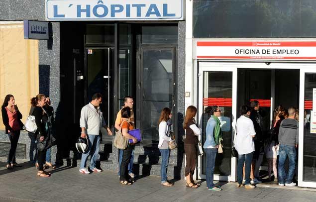 M s de 6 millones de parados en espa a el 27 16 de la for Oficina de turismo de grecia