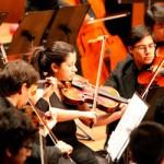 Sinfónicas juveniles de Perú y Chile dan concierto de fraternidad ante primeras damas