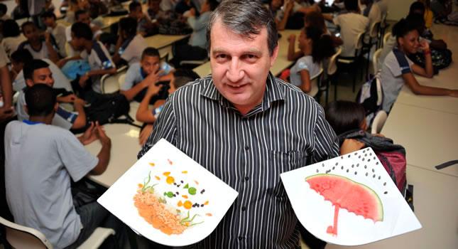 Un chef franc s ense a en las favelas de r o de janeiro a for Chef en frances