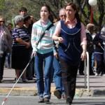 Construirán pavimentos táctiles para ciegos y parque inclusivo de la Amistad