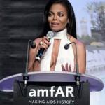 Sharon Stone, Janet Jackson y Duran Duran en gala benéfica contra el sida en Francia