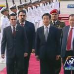 Vicepresidente de China arriba a Caracas para reunirse con el presidente Maduro