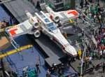 """Lego presenta en Nueva York réplica tamaño real de una nave de """"Star Wars"""""""