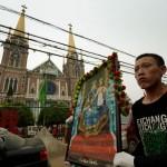 La policía rodea un pueblo católico en China para impedir una procesión