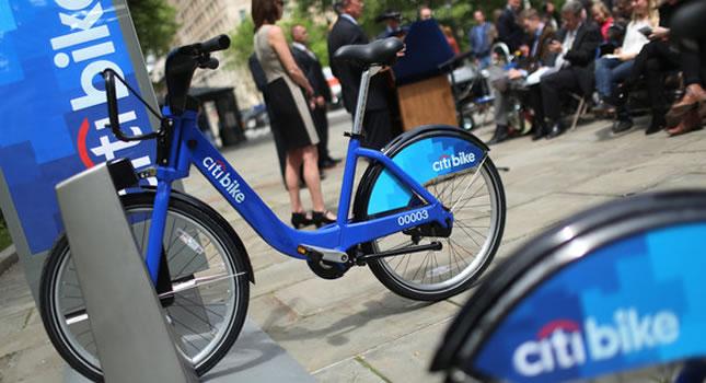CitiBank paga 41 millones de dólares para ser el sponsor del préstamo de bicicletas de Nueva York por 5 años