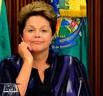 Popularidad de Rousseff se derrumba y se anuncian protestas para final de Copa Confederaciones