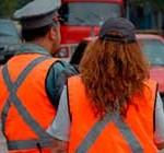 Durante todo el fin de semana no habrá inspectores de tránsito por paro