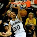 Los Spurs van un juego arriba