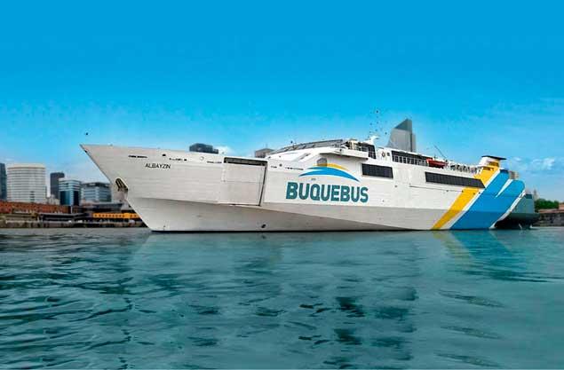 horarios buquebus: