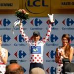 Colombiano Quintana ganó y está segundo en el Tour de Francia