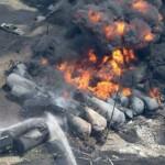 """""""Tren fantasma"""" sembró muerte en poblado canadiense de Lac-Mégantic"""