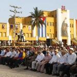 """Cuba conmemora 60 años del asalto al Moncada con críticas al """"imperialismo"""" y vivas a la unidad de América Latina"""