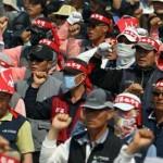 """Más de 5.000 obreros chinos en huelga contra compra de """"su"""" empresa norteamericana por compañía india"""