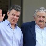 Mujica expresa su apoyo a presidente colombiano por dialogo con las FARC