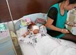 Un niño al que traficantes de órganos extirparon los ojos conmociona a China
