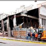 Inspección del Trabajo pide demoler edificio que se derrumbó en el Cordón