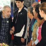 El líder de la Revolución Cubana Fidel Castro cumple hoy 87 años