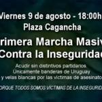 Convocan a marcha contra la violencia y oposición pide agravar penas