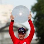 Chris Horner, de 41 años, se proclamó campeón de la Vuelta a España