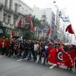 Paro general parcial del PIT-CNT con concentración, marcha y acto en 18 de Julio