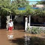 Medio millar de evacuados y un hombre muerto: desbordes en tres departamentos