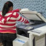 Allanan 15 locales de fotocopias por delito contra propiedad intelectual