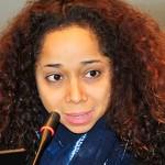 Embajadora de EE.UU Julissa Reynoso, un zombie para Halloween