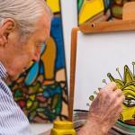 Mujica y Topolansky presentes en festejos por los 90 años de Páez Vilaró