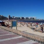 Todas las playas de Montevideo están habilitadas para baños