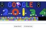 """Google y su particular """"doodle"""" para recibir el Año Nuevo"""