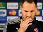 El croata Josep Simunic es suspendido por la FIFA durante 10 partidos por saludo nazi