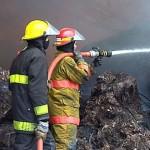 Fue extinguido incendio en Tarariras, y en La Esmeralda está controlado