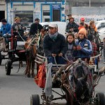 Recolectores de residuos protestan en Parlamento por impedimento de ingresar a Ciudad Vieja