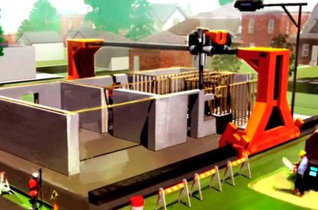 Impresoras 3d construyen casas de varios pisos que Impresion 3d construccion