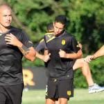 Peñarol comenzó a entrenar con sus tres jugadores nuevos