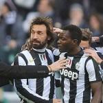 Juventus se mantiene firme como líder, Milan se hunde en Sassuolo