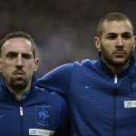 Tribunal absuelve a Ribéry y Benzema