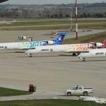 Los siete aviones de la ex Pluna pasaron a concurso de acreedores