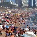 Uruguay recibió 122.546 turistas en los 10 primeros días de enero