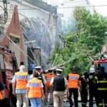 Al menos siete muertos y nueve heridos en un incendio y derrumbe en Buenos Aires