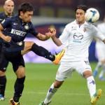 Inter derrota a Fiorentina 2 a 1