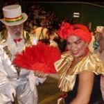 """La """"mama vieja"""", ícono del carnaval uruguayo y de una minoría negra postergada"""